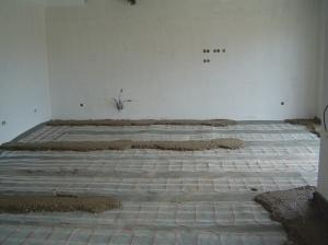 Installing underfloor heating Algarve