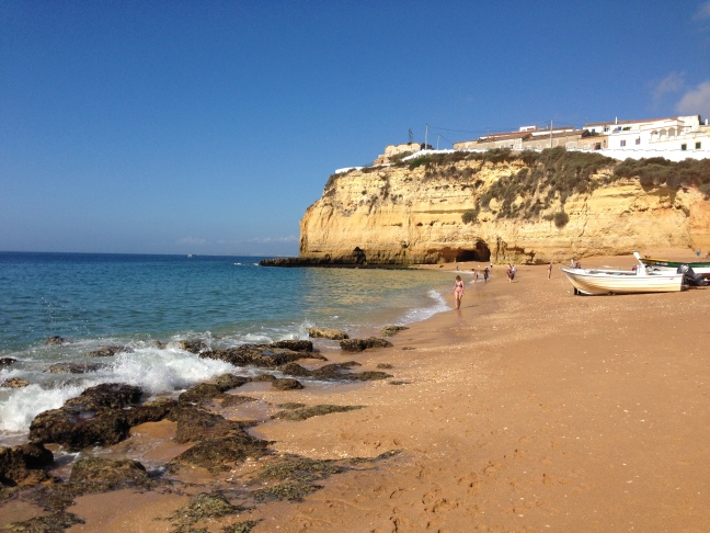Carvoeiro October beach